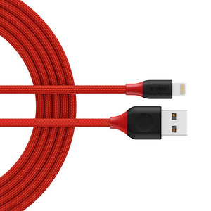 JCPal Cable FlexLink Lightning to USB Cable Red