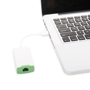 JCPal Cable USB 2-Port Hub with Ethernet Adapter