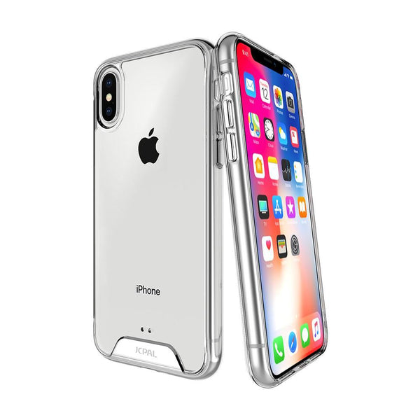 JCPal Case Casense DualPro Clear Case for iPhone X