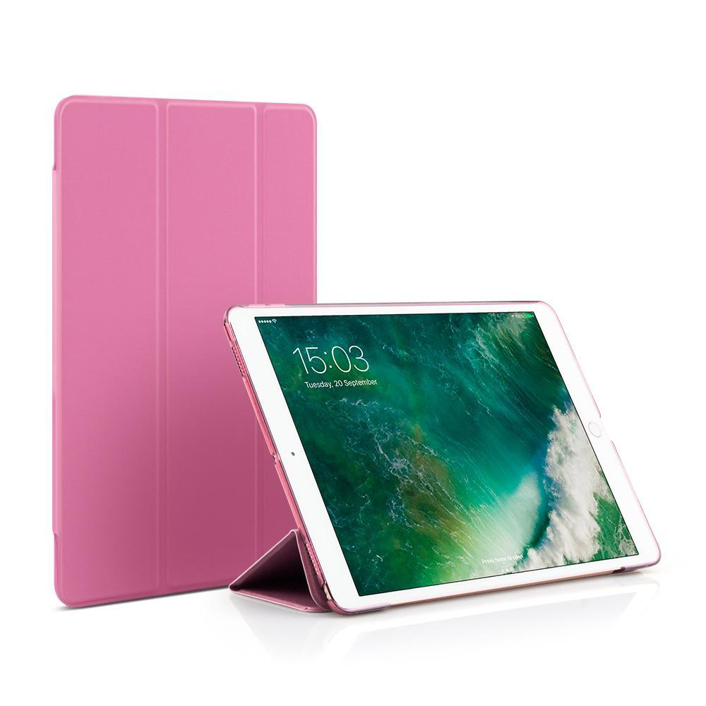 JCPal Case Casense Folio Case for iPad 9.7-inch Rose Red