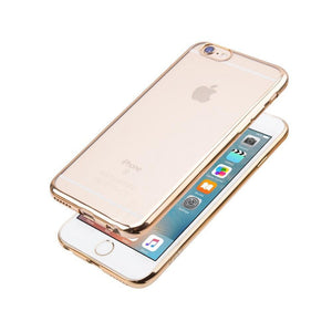 JCPal Case Casense Plated TPU Protective Case iPhone 6/6s / Gold
