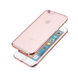 JCPal Case Casense Plated TPU Protective Case iPhone 6/6s / Rose Gold