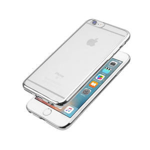 JCPal Case Casense Plated TPU Protective Case iPhone 6/6s / Silver