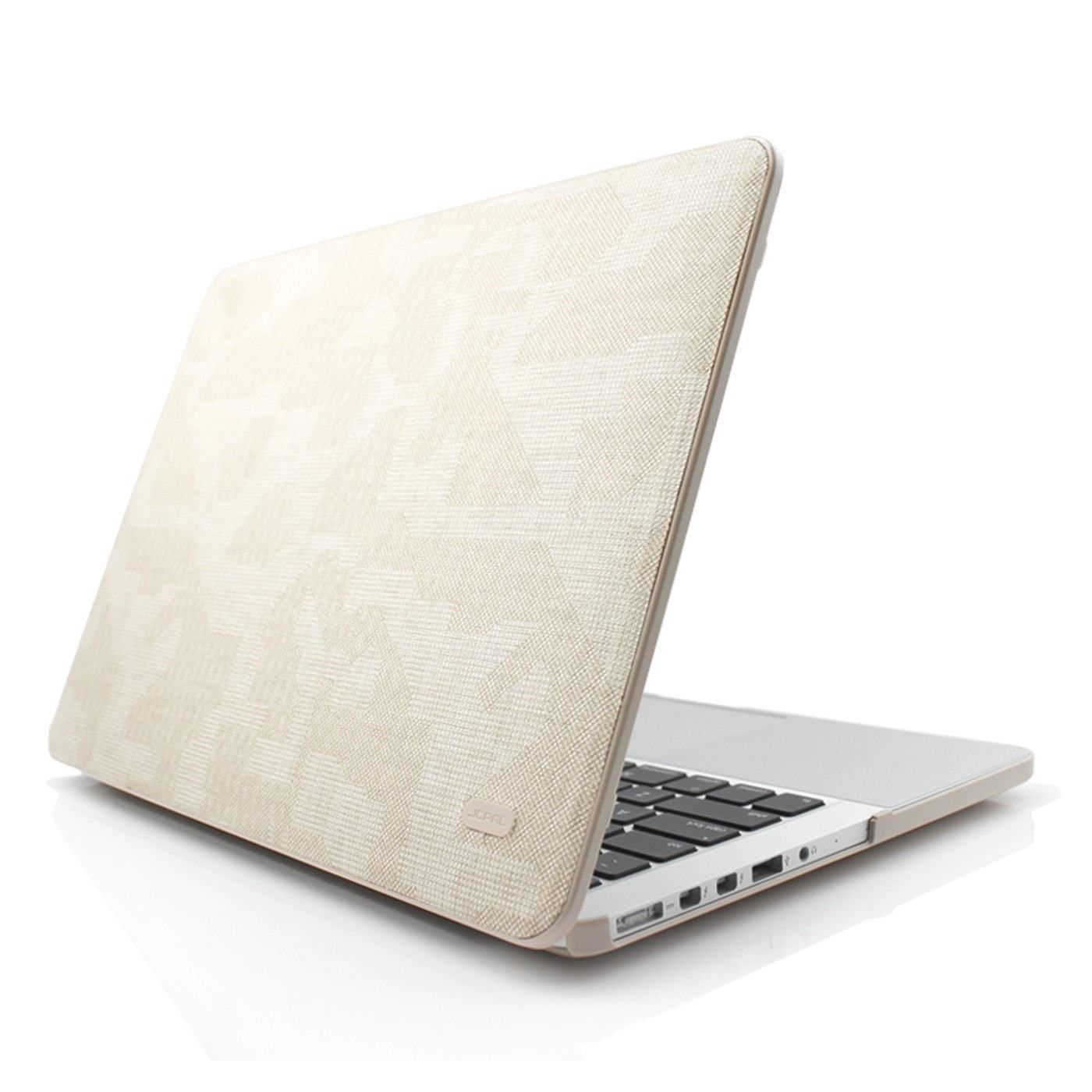 "JCPal Case Fabulous Case for MacBook Pro 13"" with Retina (Fabric-Backed) Latte"