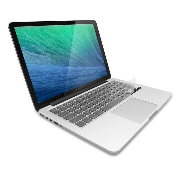 JCPal Keyboard Protector FitSkin Ultra Clear Keyboard Protector for MacBook Pro (US Layout) MBP13/15/17, MBPR13/15, Wireless Keyboard