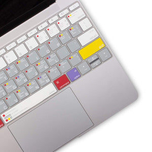 JCPal Keyboard Protector VerSkin MacOS Shortcut Keyboard Protector (US-Layout)