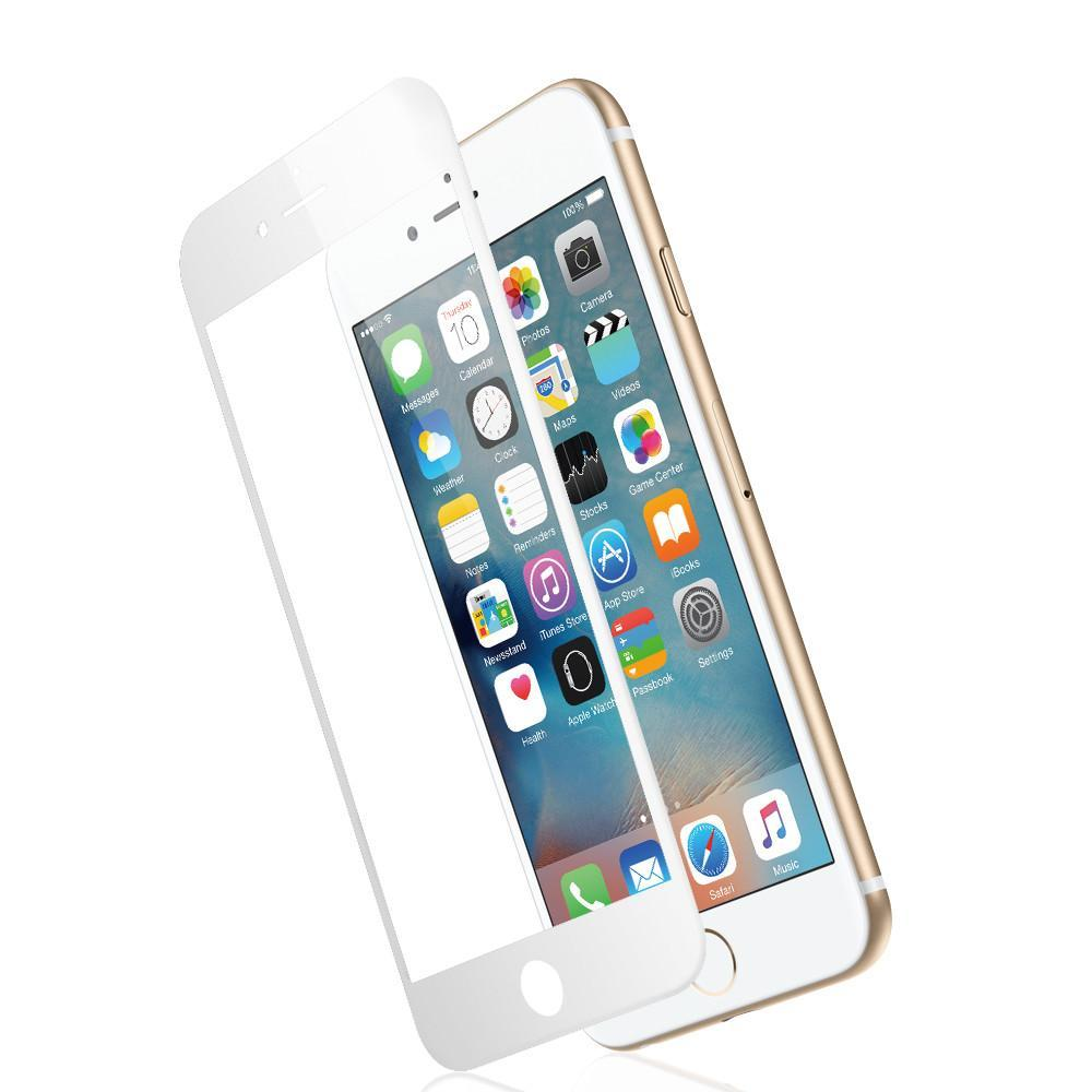 JCPal Screen Protector 3D Armor Glass Screen Protector for iPhone 6 and 6 Plus iPhone 6 / White