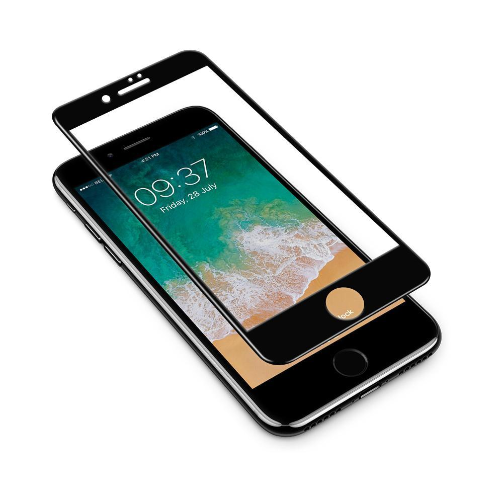 JCPal Screen Protector 3D Armor Glass Screen Protector for iPhone 8 / 8 Plus iPhone 8 / Black