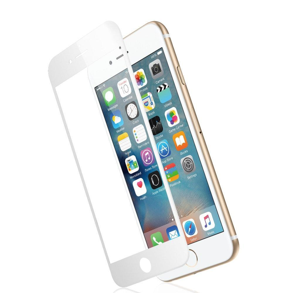 JCPal Screen Protector Preserver Armor Glass for iPhone 6s and 6s Plus iPhone 6/6s / White
