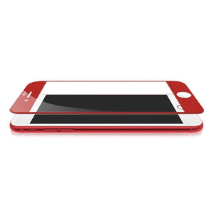 JCPal Screen Protector Preserver Red Glass Screen Protector for iPhone 7 and 7 Plus