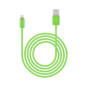 JCPal Unavailable LiNX Lightning to USB Braided Cable Green