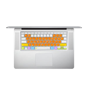 "JCPal Unavailable VerSkin Adobe Illustrator Shortcut Keyboard Protector (US-Layout) MacBook Pro 13""/15""/17"" - Air 13"" - Wireless Keyboard"