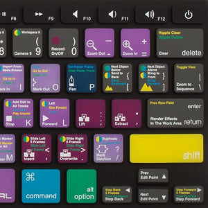 JCPal Unavailable VerSkin Adobe Premiere Pro Shortcut Keyboard Protector (US-Layout)