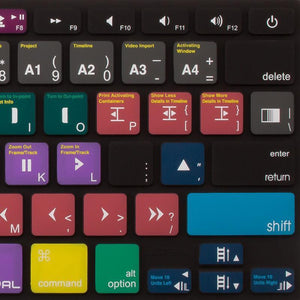 JCPal Unavailable VerSkin Avid Media Composer Shortcut Keyboard Protector (US-Layout)