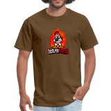 Alpha Rooster T Shirt - brown