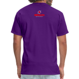 Alpha Rooster T Shirt - purple