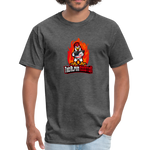 Alpha Rooster T Shirt - heather black