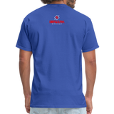 Alpha Rooster T Shirt - royal blue