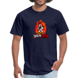 Alpha Rooster T Shirt - navy