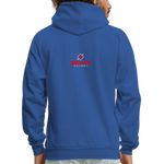 The 6-4 Hoodie - royal blue