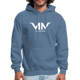 The 6-4 Hoodie - denim blue