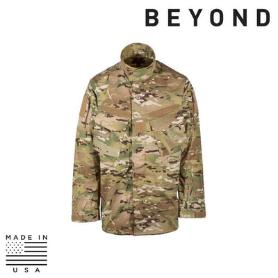 Beyond Clothing BDU Tops MULTICAM / SMALL / REG Beyond Clothing A9-0143-C10 A9 Mission Blouse