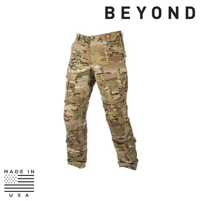 Beyond Clothing BDU Trousers MULTICAM / SMALL / REG Beyond Clothing A9-0131-C10 A9A Advanced Mission Pant