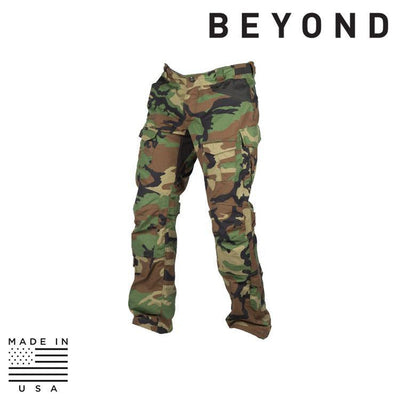 Beyond Clothing BDU Trousers WOODLAND / SMALL / REG Beyond Clothing A9-0131-C10 A9A Advanced Mission Pant