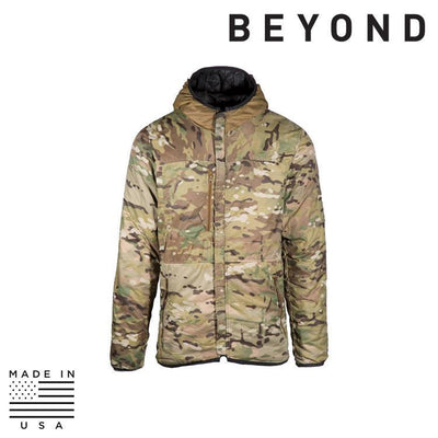 Beyond Clothing Clothing Systems BLACK/MULTICAM / SMALL / REG Beyond Clothing A3-0169-C10 A3 Alpha Reversible Lochi