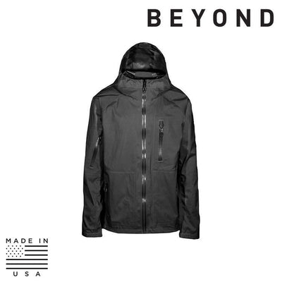 Beyond Clothing Clothing Systems BLACK / SMALL / REG Beyond Clothing A6-0129-C10 A6 Rain Jacket