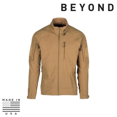 Beyond Clothing Clothing Systems COYOTE / SMALL / REG Beyond Clothing A5-0111-C03 A5 Rig Light Jacket