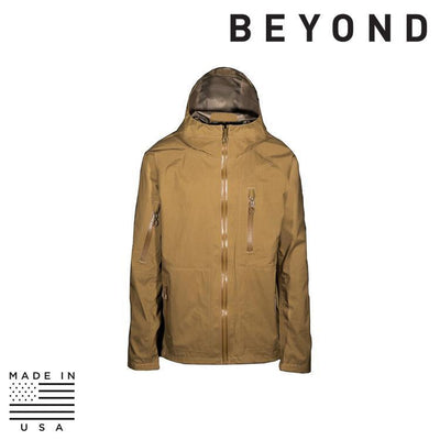 Beyond Clothing Clothing Systems COYOTE / SMALL / REG Beyond Clothing A6-0129-C10 A6 Rain Jacket