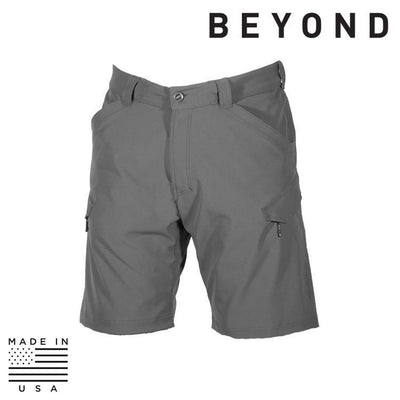 Beyond Clothing Clothing Systems GREY / SMALL Beyond Clothing OM-0182-C10 A5 Rig Light Short