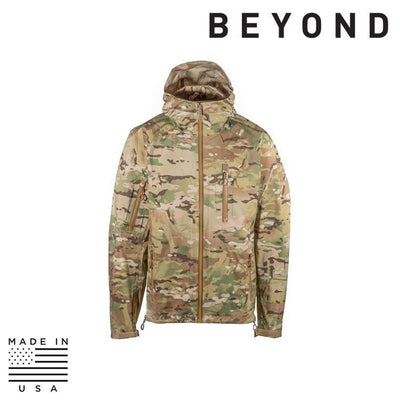 Beyond Clothing Clothing Systems MULTICAM / SMALL / REG Beyond Clothing A6-0129-C10 A6 Rain Jacket