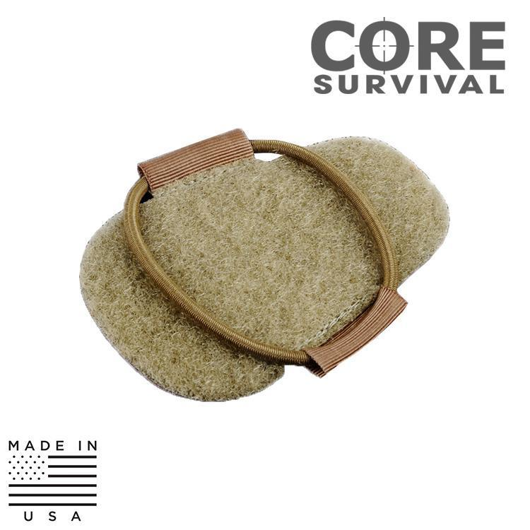 CORE Survival Strobe / Marker Lights CORE Survival HEL-STAR HSR Helmet Mounting Attach Patch Kit