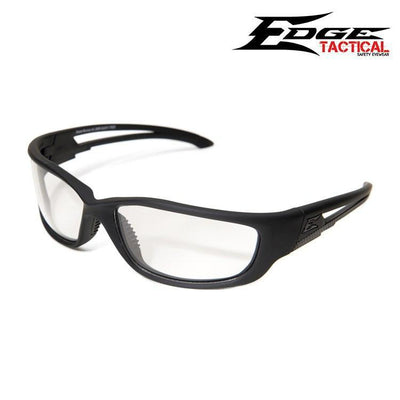 Edge Tactical Eyewear Safety Glasses MATTE BLACK / CLEAR Edge Tactical Eyewear Blade Runner XL Safety Glasses