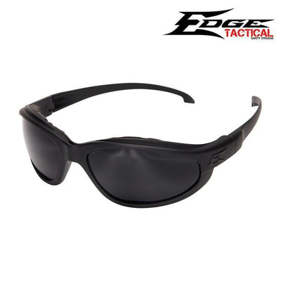 Edge Tactical Eyewear Safety Glasses MATTE BLACK / G-15 Edge Tactical Eyewear Falcon Thin Temple Safety Glasses w/ Foam Gasket Kit