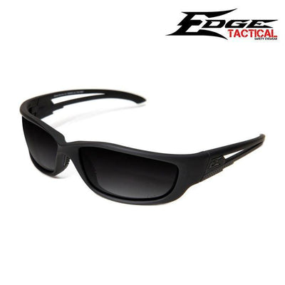 Edge Tactical Eyewear Safety Glasses MATTE BLACK / POLARIZED SMOKE Edge Tactical Eyewear Blade Runner XL Safety Glasses