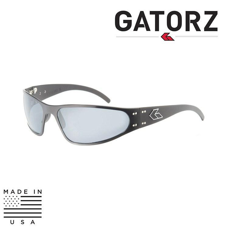 Gatorz Eyewear Sunglasses MATTE BLACK / SMOKE / NON-POLARIZED Gatorz Eyewear Wraptor Sunglasses - Aluminum Series