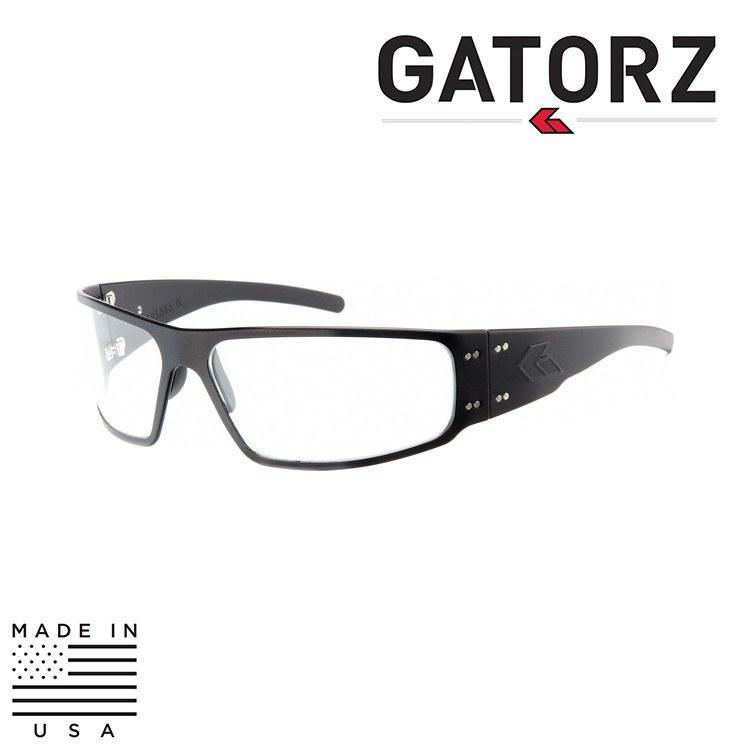 Gatorz Eyewear Sunglasses TACTICAL BLACK / SMOKE / NON-POLARIZED Gatorz Eyewear Magnum Sunglasses - Tactical / Blackout Series