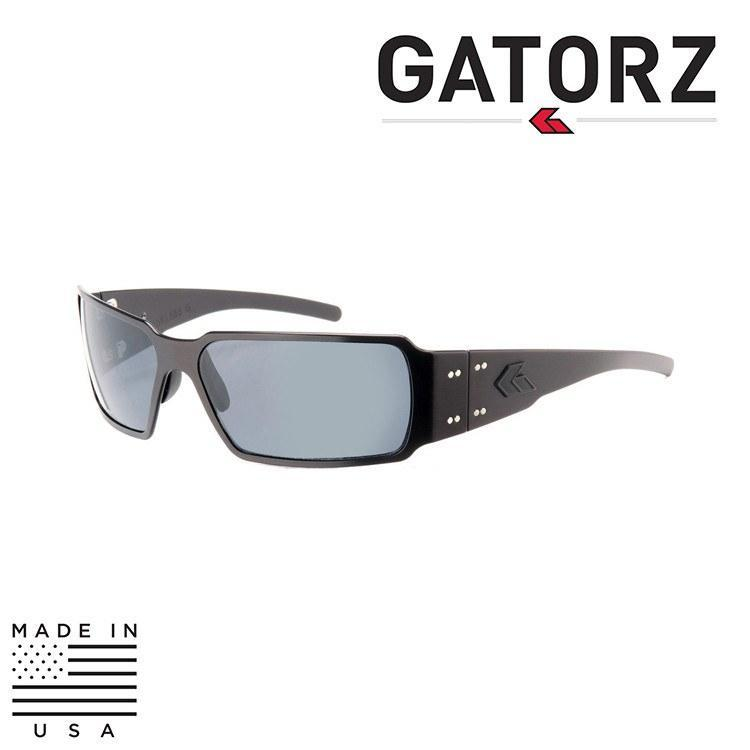 Gatorz Eyewear Sunglasses TACTICAL BLACK / SMOKE / NON-POLARIZED Gatorz Eyewear Boxster Sunglasses - Tactical / Blackout Series