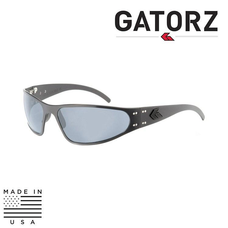 Gatorz Eyewear Sunglasses TACTICAL BLACK / ROSE / POLARIZED Gatorz Eyewear Wraptor Sunglasses - Tactical / Blackout Series