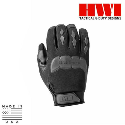 HWI Gear Tactical / Duty Gloves BLACK / X-SMALL HWI Gear MG100B Touchscreen Tactical Mechanics Gloves