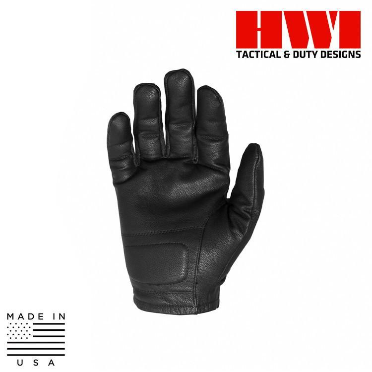 HWI Gear Tactical / Duty Gloves BLACK / X-SMALL HWI Gear CG100B/CG200B/CG300B Kevlar® Tactical Combat Gloves