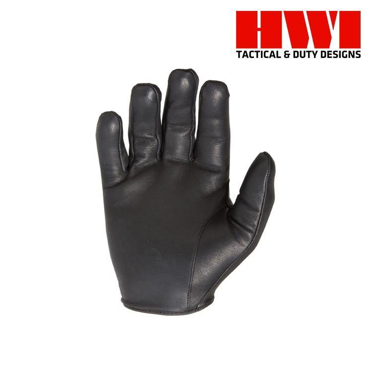 HWI Gear Tactical / Duty Gloves BLACK / XX-SMALL HWI Gear KLD100 Kevlar® Lined Cut Resistant Leather Duty Gloves