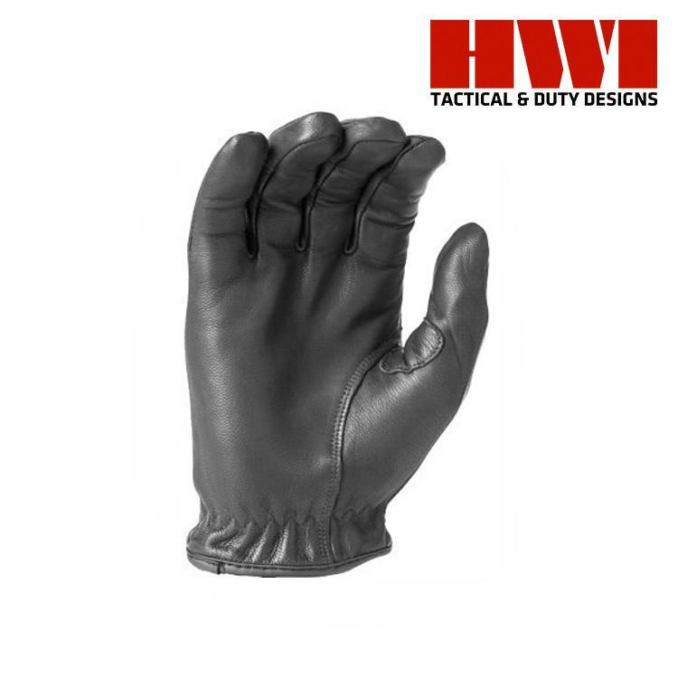 HWI Gear Tactical / Duty Gloves BLACK / XX-SMALL HWI Gear SLD100 Spectra® Lined Cut Resistant Leather Duty Gloves