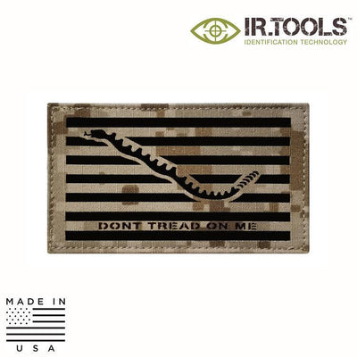 IR Tools Hybrid IR Patches AOR 1 IR.Tools™ Infrared IR Navy Jack NWU Covert Field Patch - Hybrid / Fabric