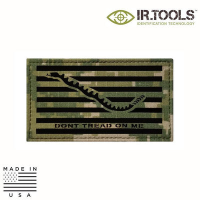 IR Tools Hybrid IR Patches AOR 2 IR.Tools™ Infrared IR Navy Jack NWU Covert Field Patch - Hybrid / Fabric