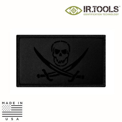 IR Tools Hybrid IR Patches BLACK IR.Tools™ Infrared IR Calico Jack Covert Field Patch - Hybrid / Fabric