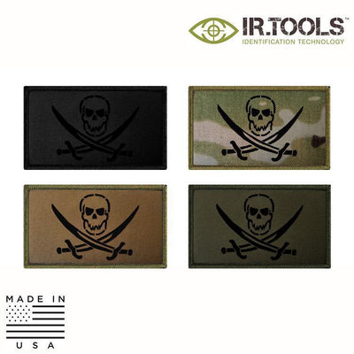 IR Tools Hybrid IR Patches IR.Tools™ Infrared IR Calico Jack Covert Field Patch - Hybrid / Fabric